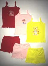 Топ + шорты для девочек