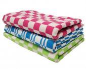 Одеяло байковое Клетка