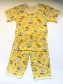 """Пижама с бриджами """"Весёлый мишка"""""""